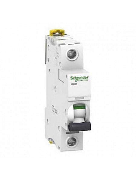 Автоматический выключатель модульный Schneider Electric iC60H 1п 16А C 10кA AC (перемен.) (A9F89116)