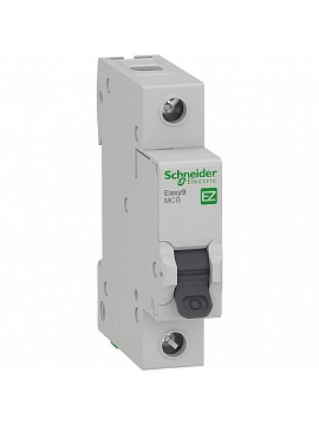 Автоматический выключатель модульный Schneider Electric EASY9 1п 63А C 4,5кA AC (перемен.) (EZ9F34163)