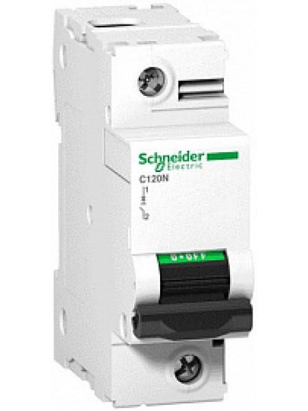 Автоматический выключатель модульный Schneider Electric С120N 1п 80А C 10кA AC (перемен.) (A9N18357)