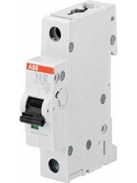 Автоматический выключатель модульный ABB S201M 1п 40А C 10кA AC/DC (перемен./постоян.) (2CDS271001R0404)
