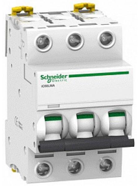 Автоматический выключатель модульный Schneider Electric iC60L 3п 2,5А C 100кA (A9F90373)