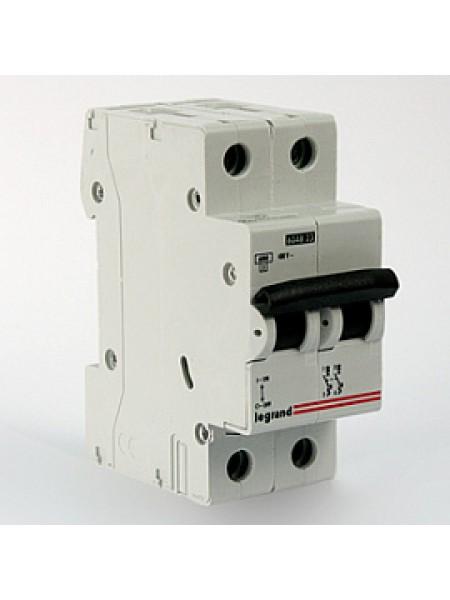 Автоматический выключатель модульный Legrand TX3 2п 50А C 6кA (404047)