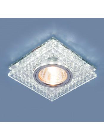Точечный светодиодный светильник 8391 MR16 CL/SL прозрачный/серебро Elektrostandard
