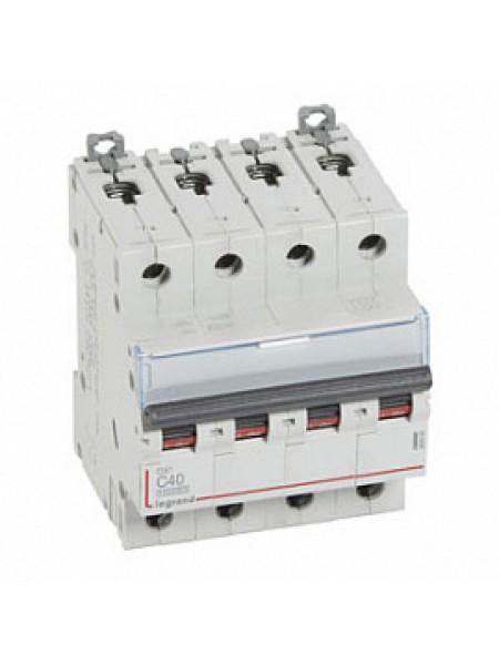Legrang выкл. автоматический DX3 4P C40A 10kA
