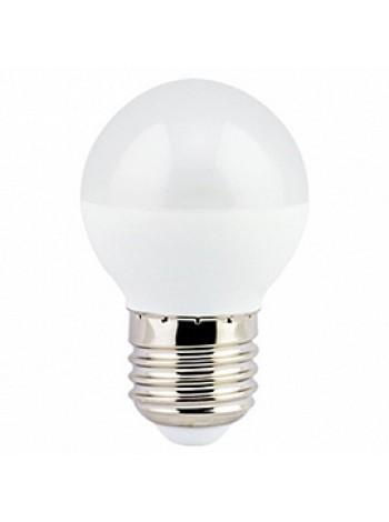Лампа светодиодная 7Вт E27 G45 2700К матовая 220В шар K7GW70ELC ECOLA