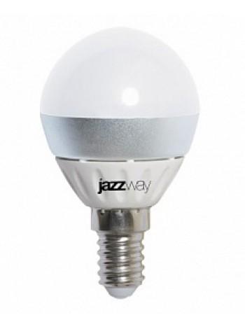 Лампа светодиодная 5Вт E27 G45 3000К 350Лм матовая 230В шар Combi .1013125 JazzWay