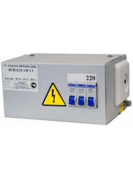 Ящик с трансформатором ОСО ЯТП 220/36В IP31 250Вт 3 автомата ЭЛТИ