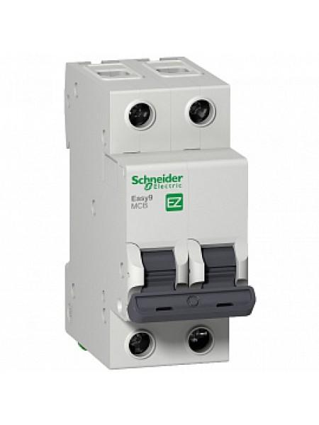 Автоматический выключатель модульный Schneider Electric EASY9 2п 63А C 4,5кA AC (перемен.) (EZ9F34263)