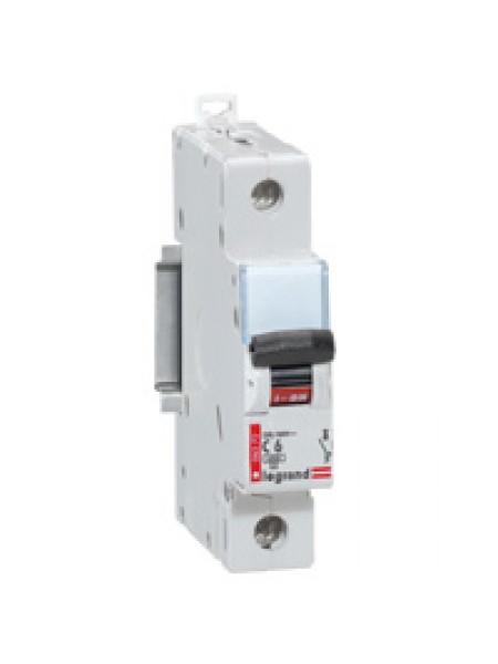 Автоматический выключатель модульный Legrand DX 1п 63А C 10кA (006382)