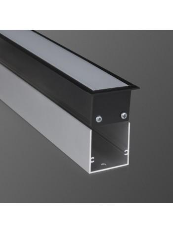 Линейный светодиодный встраиваемый светильник 128см 21Вт 3000К (LS-03-128-21-3000-MB/MS) Elektrostandard (Электростандарт)