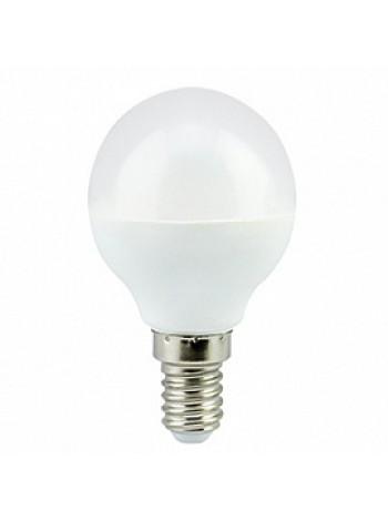 Лампа светодиодная 7Вт E14 G45 2700К матовая 220В шар Premium K4QW70ELC ECOLA