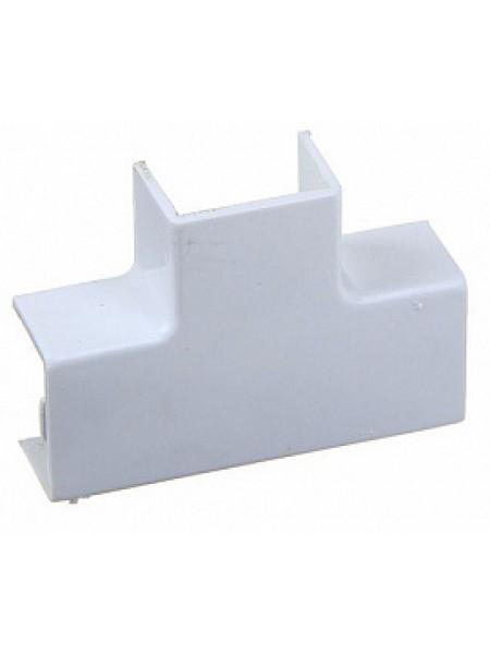 Кабель-канал аксесс. угол T-образный (белый) 25х25 (уп.4шт) 50.15.004.010 Tplast