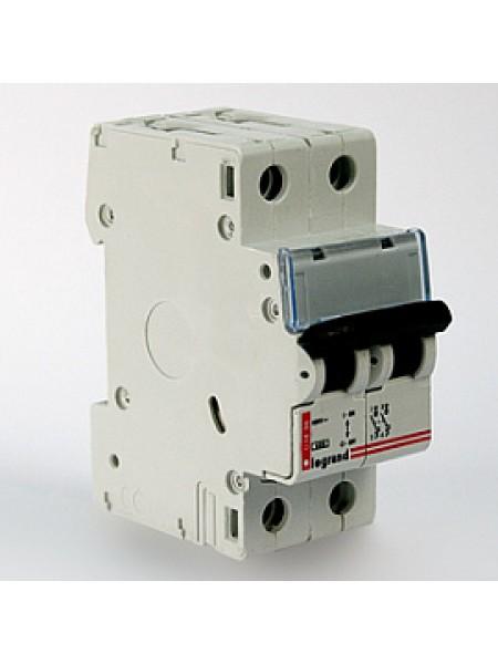 Автоматический выключатель модульный Legrand DX3-E 2п 10А C 6кA (407275)