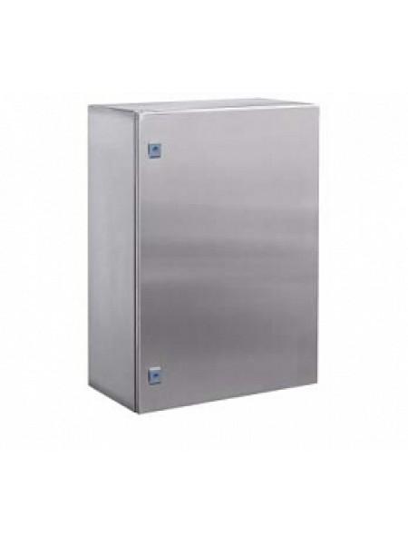DKC R5CEF10631 Навесной шкаф CE из нержавеющей стали (AISI 304), 1000x600x300мм, с фланцем