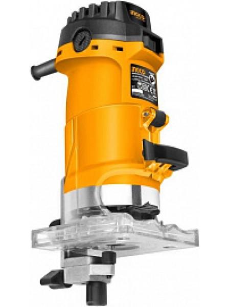 Фрезер кромочный INGCO PLM5002 INDUSTRIAL, 500Вт, 33500об/мин, патрон 6мм и 1/4