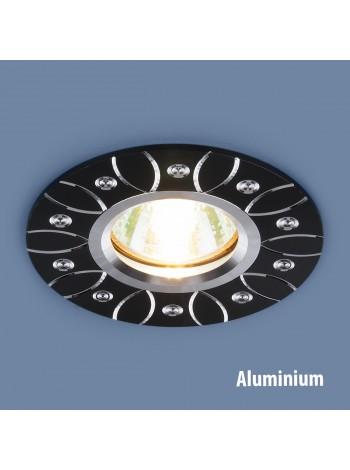 Алюминиевый точечный светильник 2007 MR16 BK черный Elektrostandard