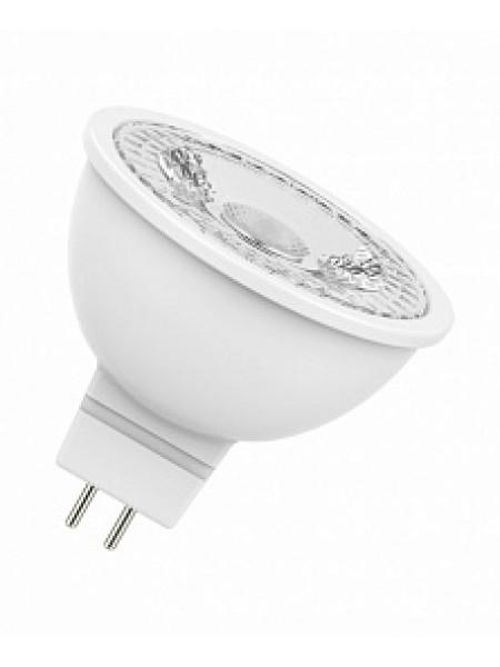 Лампа светодиодная 4,2Вт GU5.3 MR16 3000K 350Лм прозрачная 220В рефлекторная 4052899981140 OSRAM