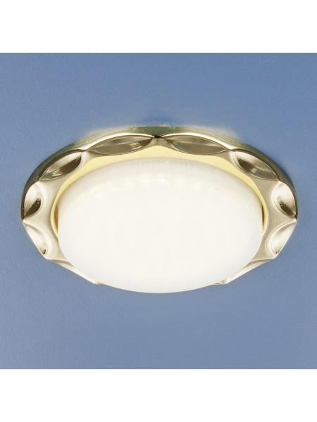 Встраиваемый точечный светильник 1064 GX53 GD золото Elektrostandard