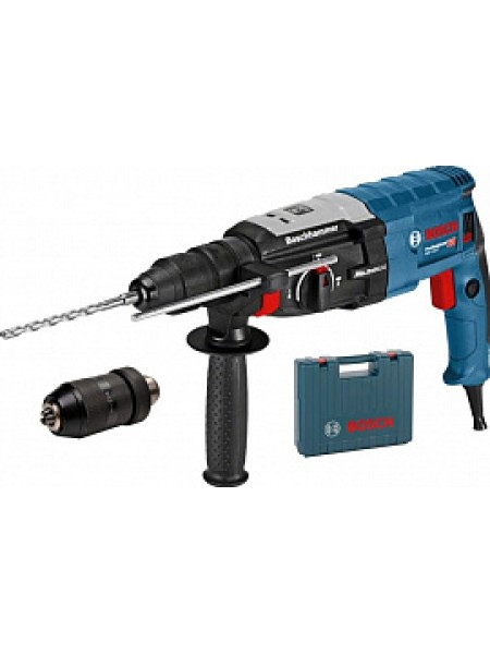 Перфоратор SDS-plus, 880Вт, 3,2Дж, кейс, Bosch GBH 2-28 F 0611267600