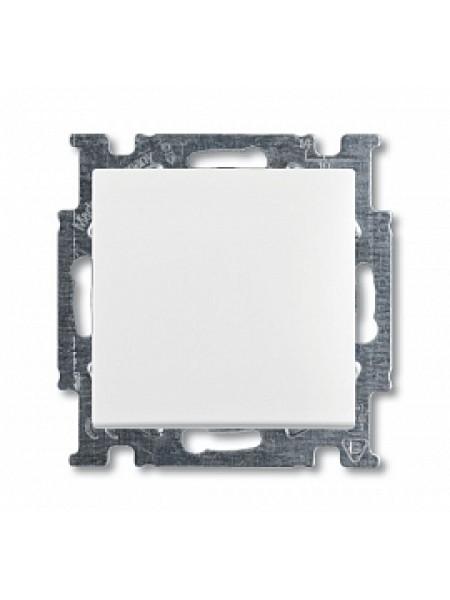 Выключатель одноклавишный с клавишей, альпийский белый Basic55 1012-0-2139 ABB