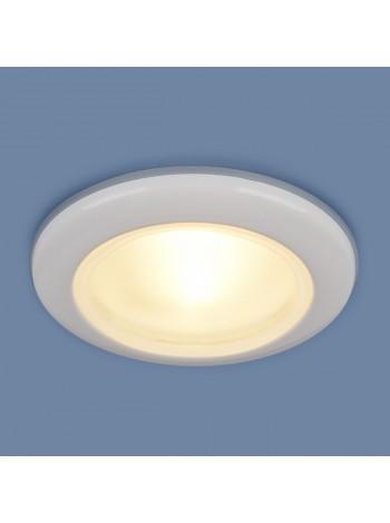 Влагозащищенный точечный светильник 1080 MR16 WH белый Elektrostandard