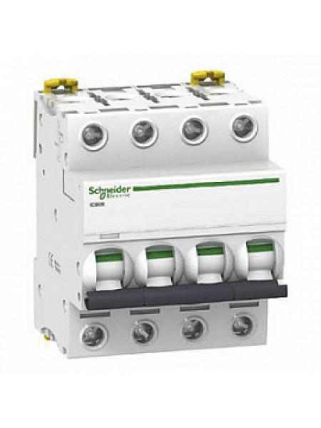 Автоматический выключатель модульный Schneider Electric iC60N 4п 10А C 6кA AC (перемен.) (A9F79410)