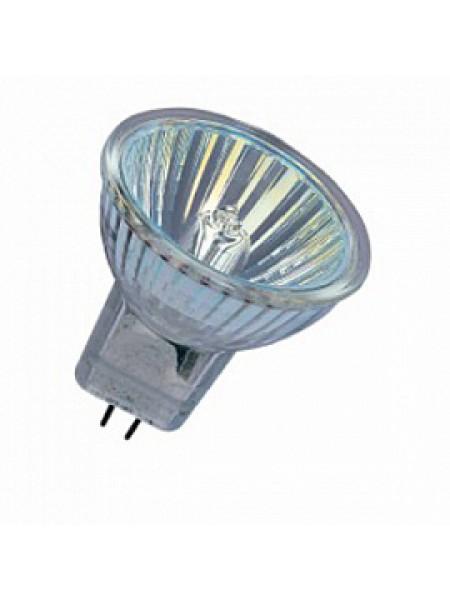 Лампа галогенная 20Вт DECOSTAR 35 20Wt 12В GU4 44890WFL 36гр со стеклом 4050300346168 OSRAM