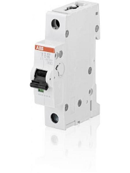 Автоматический выключатель модульный ABB S201 1п 16А D 6кA AC/DC (перемен./постоян.) (2CDS251001R0161)