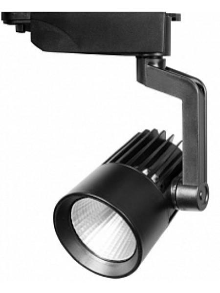 Прожектор светодиодный трековый PTR 0125 25Вт 2200Лм 4000K 24° BL (черный) IP40 Jazzway