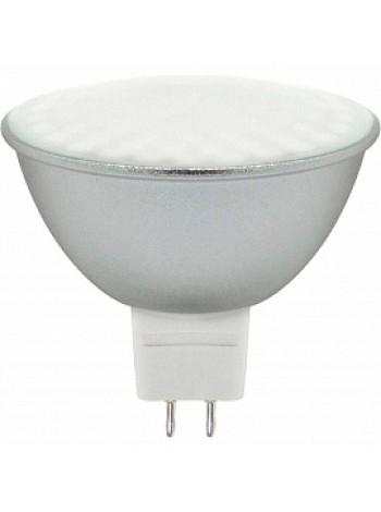 Лампа светодиодная 7Вт G5.3 MR16 4000K 560Лм матовая 220В Рефлектор LB-26 80LED 25236 Feron