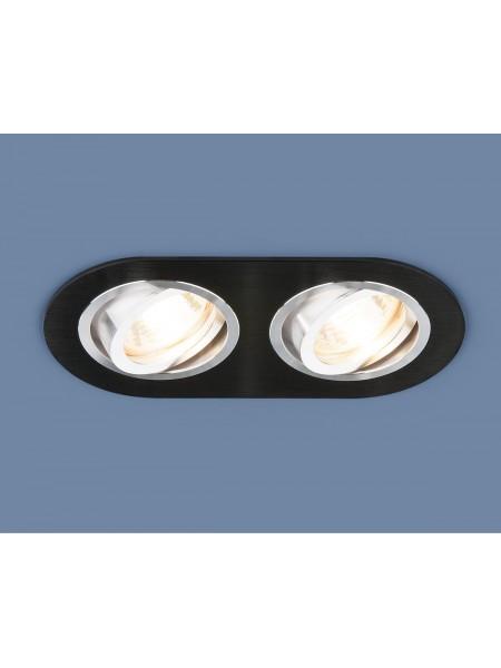 Алюминиевый точечный светильник 1061/2 MR16 BK черный Elektrostandard
