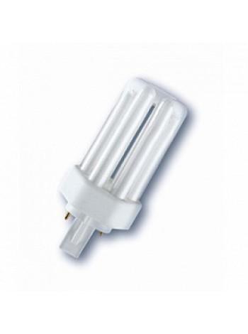 Лампа КЛЛ энергосберегающая 26Вт GX24d-3 Dulux T 26W/830 PLUS 3000К теплый белый свет 138х49 4050300342061 OSRAM
