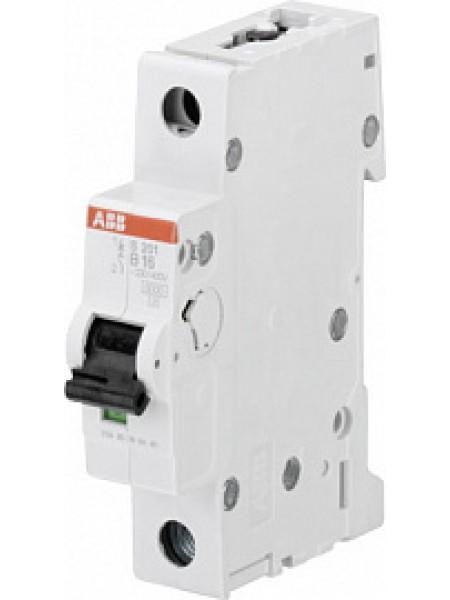 Автоматический выключатель модульный ABB S201 1п 63А B 6кA AC/DC (перемен./постоян.) (2CDS251001R0635)