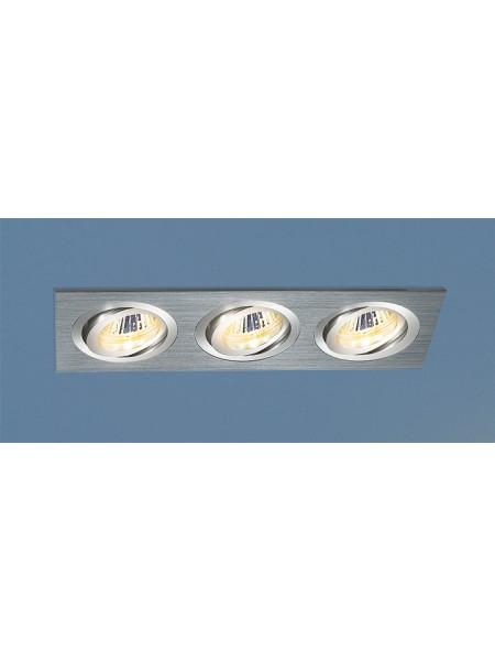 Алюминиевый точечный светильник 1011/3 MR16 CH хром Elektrostandard