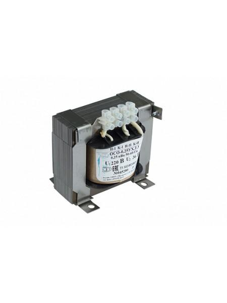 Т. ОСО-0,25-09 220/42в трансформатор напряжения /Кор 5шт/ ЭЛТИ