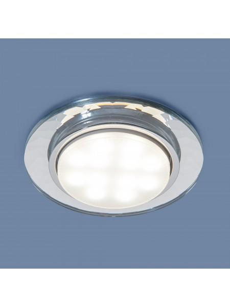 Встраиваемый точечный светильник 1061 GX53 CL прозрачный Elektrostandard