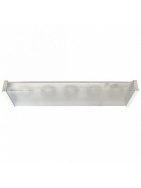 DL Светильник накладной LightGX53 LED ДПО12-2х8-002 прямоугольный 5хGX53 матовый белый TR53L5ECA ECOLA
