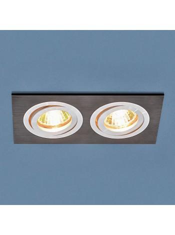 Точечный светильник 1051/2 BK черный Elektrostandard