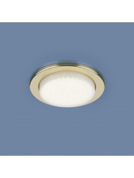 Встраиваемый потолочный светильник 1035 GX53 GD золото Elektrostandard