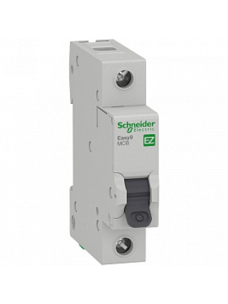 Автоматический выключатель модульный Schneider Electric EASY9 1п 10А B 4,5кA AC (перемен.) (EZ9F14110)
