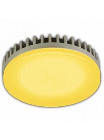 Лампа светодиодная 6,1Вт GX53 Tablet матовая 220В таблетка желтый T5TY61ELC ECOLA