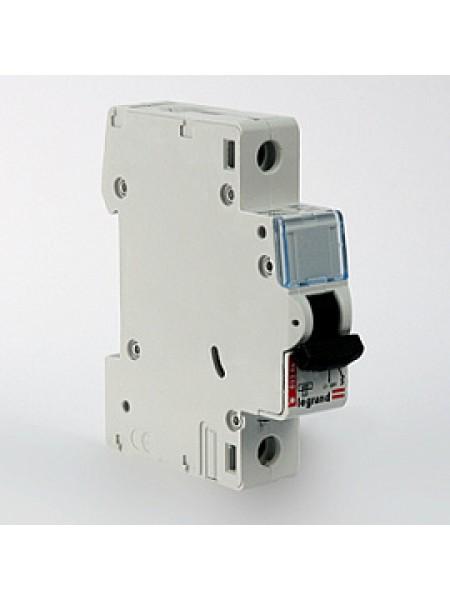 Автоматический выключатель модульный Legrand DX3-E 1п 25А C 6кA (407265)