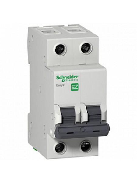 Автоматический выключатель модульный Schneider Electric EASY9 2п 6А C 4,5кA AC (перемен.) (EZ9F34206)