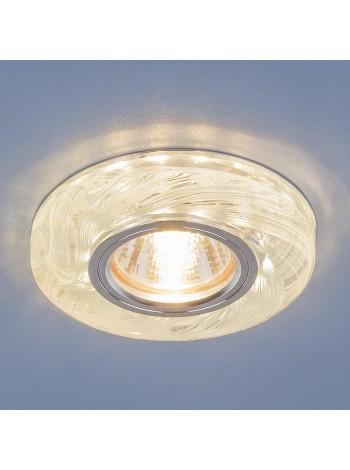 Точечный светодиодный светильник 2191 MR16 CL/BL прозрачный/голубой Elektrostandard