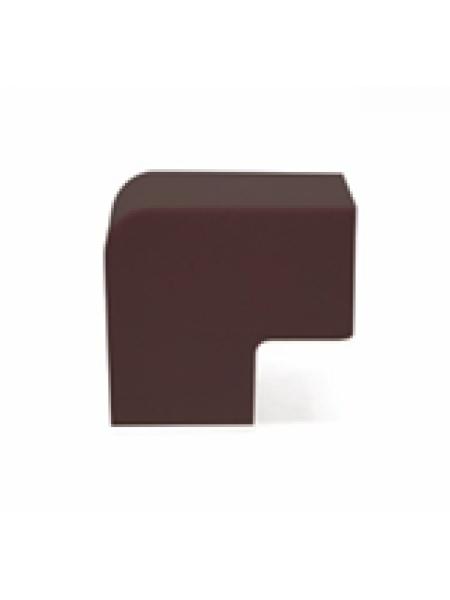 Кабель-канал аксесс. Плоский угол L (орех темный) 20х10 (уп.4шт) 50.17.003.003 Tplast