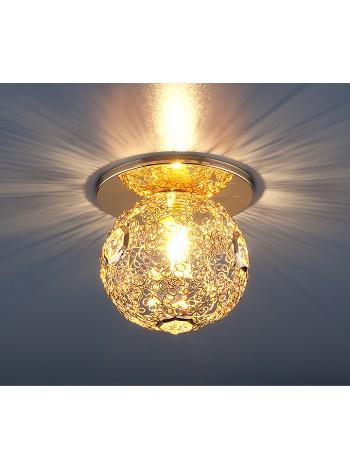 Светильник точечный 1002 G9 GD золото Elektrostandard