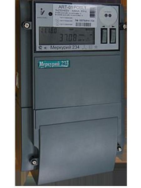 Счетчик электроэнергии трехфазный многотарифный (2 тарифа)Меркурий-234 ART-00 P(PR) 5- 10А , 100 В.оптопорт, RS485 Инкотекс