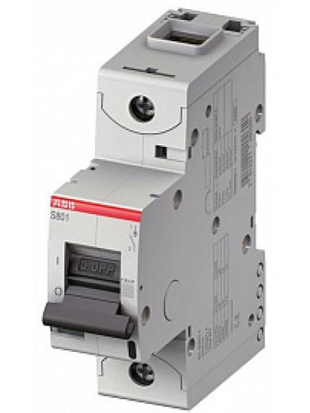 Автоматический выключатель модульный ABB S801C 1п 50А C 15кA AC/DC (перемен./постоян.) (2CCS881001R0504)