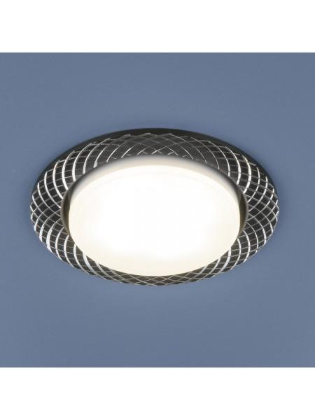 Алюминиевый точечный светильник 1071 GX53 BK  черный Elektrostandard