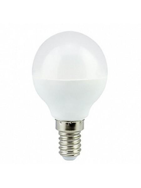 Лампа светодиодная 5,4Вт E14 G45 4000К матовая 220В шар Premium K4QV54ELC ECOLA